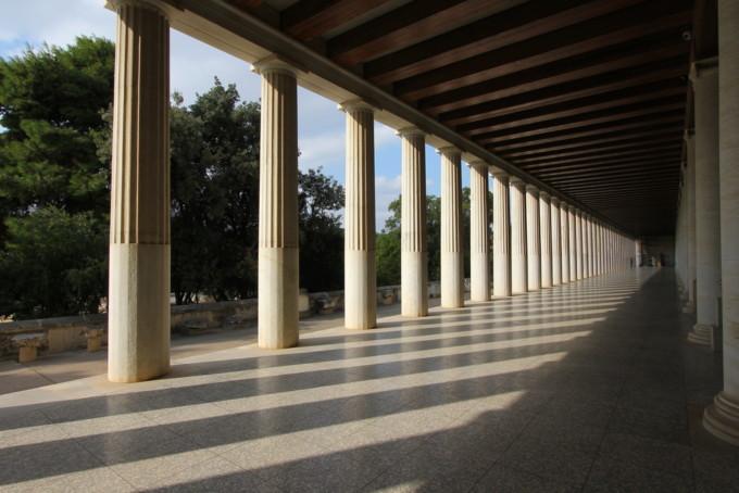 アテネにあるアッタロスの柱廊
