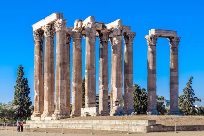 アテネにあるゼウス神殿