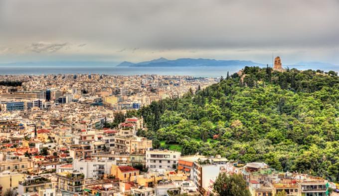 アテネにあるフィロパポスの丘