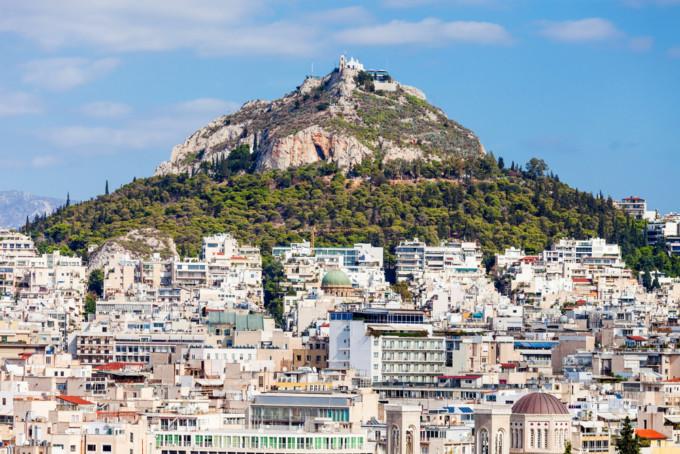 アテネのリカベトス山