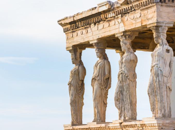 アテネの神殿エレクテイオン神殿