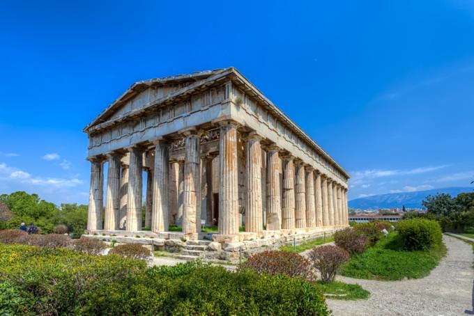 アテネにあるヘファイストス神殿