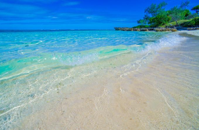 ニューカレドニアの美しいビーチ