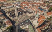 ミュンヘンの美しい街並み