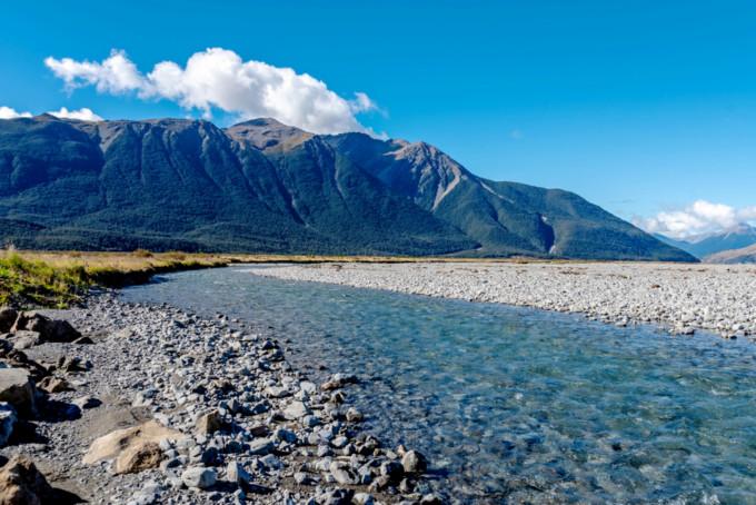 ニュージーランドの美しい水