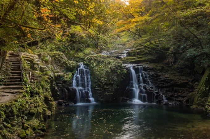 名張市の赤目四十八滝(あかめしじゅうはちたき)を散歩する