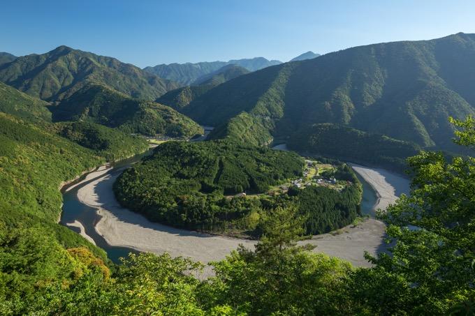 秘境「木津呂集落」は難易度の高いハイキングコースが続きます