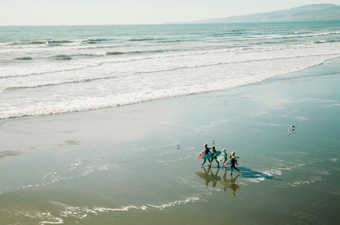 サーファーたちの楽園「ゴールドコースト」