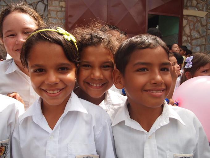 ベネズエラの子供たち