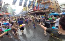 タイの水掛け祭り「ソンクラン」を楽しもう!地球に刺さるKozeeさんと行くツアー予約受付中