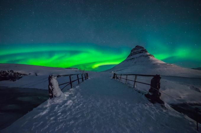 アイスランドでオーロラ見れた?