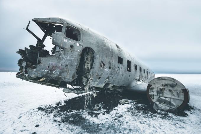 Plane Wreck(未訪問) / 南アイスランド