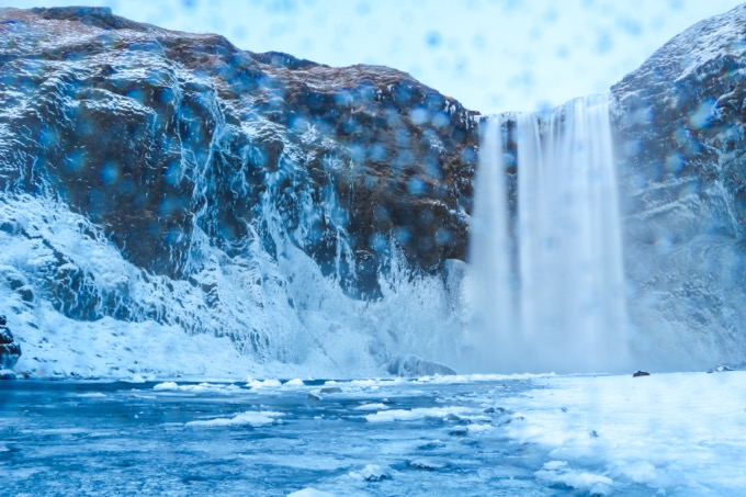 スコゥガフォス / 南アイスランド