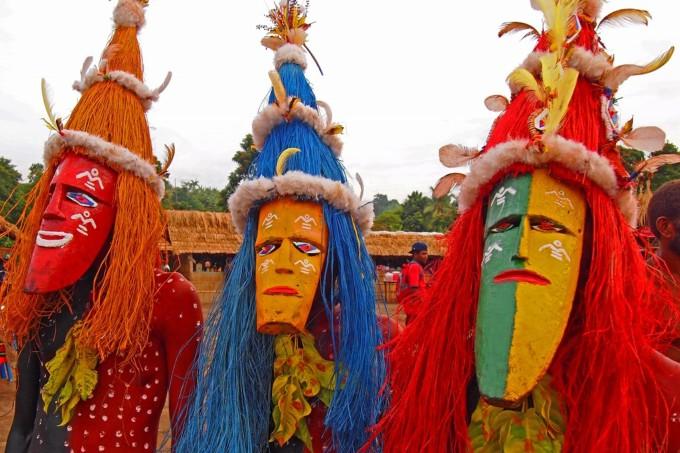 パプアニューギニア お祭り マスクフェスティバル