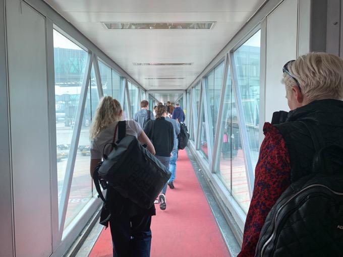 北京空港のトランジットスタート