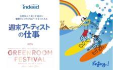 "【GREENROOMの仕事でハワイに行きませんか?】 Indeedが旅費宿泊費全額負担&報酬10万円の ""週末アーティストの仕事""キャンペーン開始!"