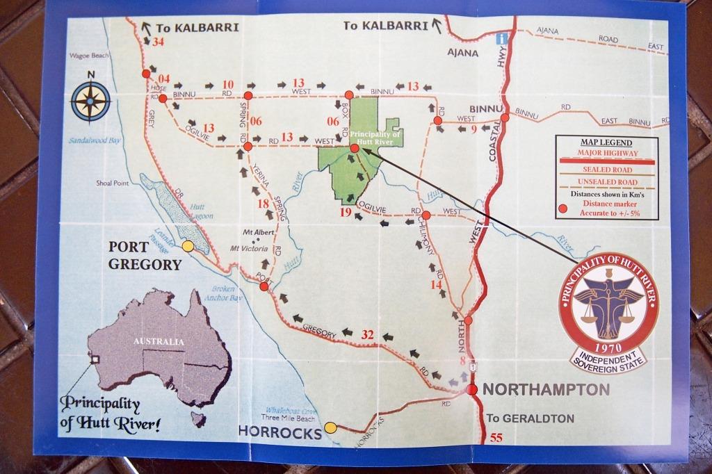 ハットリバー公国 オーストラリア 未承認国家