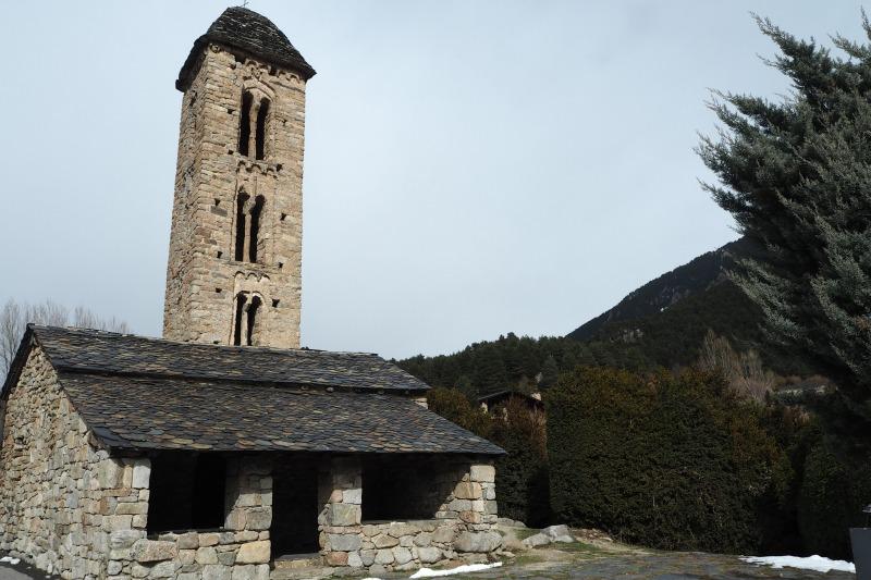 アンドラ 聖ミケル教会 観光