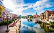ポーランドの運河が美しい街「ビドゴシチ」実はオランダの景色に似てる?