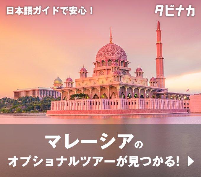 マレーシアのオプショナルツアー