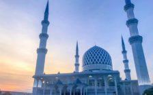 クアラルンプールにあるブルーモスクのアクセスと美しさを写真で紹介