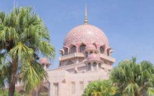 クアラルンプールのピンクモスクのアクセス方法と可愛い内部を紹介