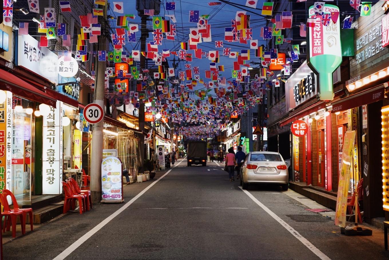 コプチャン通りで韓国ホルモン