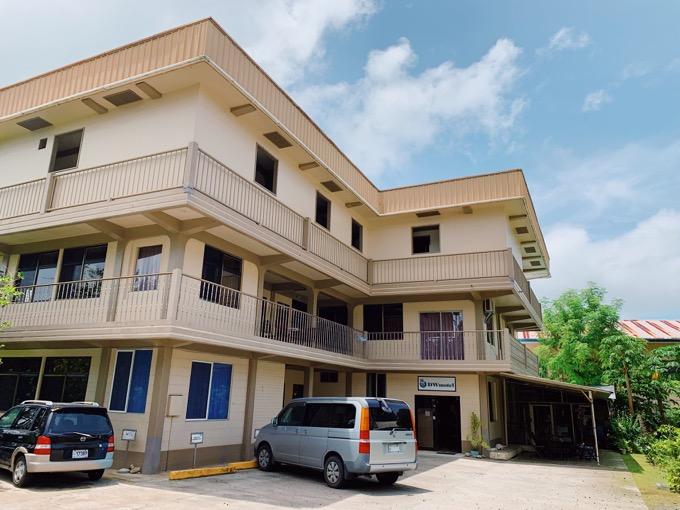 パラオ旅行で宿泊した「DW Hotel」