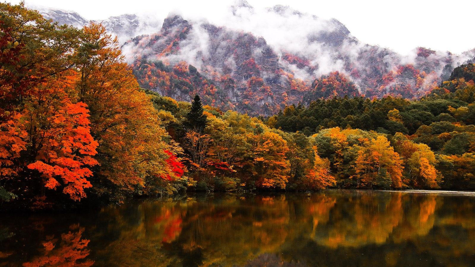 美しき自然の芸術作品!日本が誇る「水鏡」世界への誘い