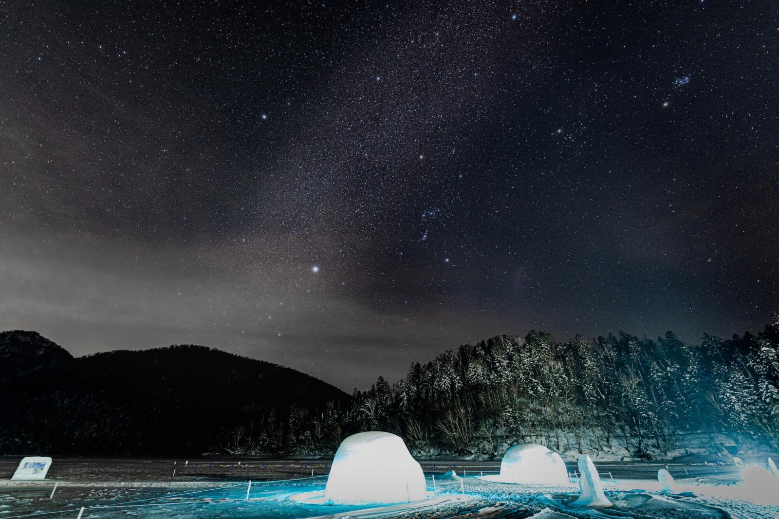 北海道のIceBar(然別湖コタン)体験