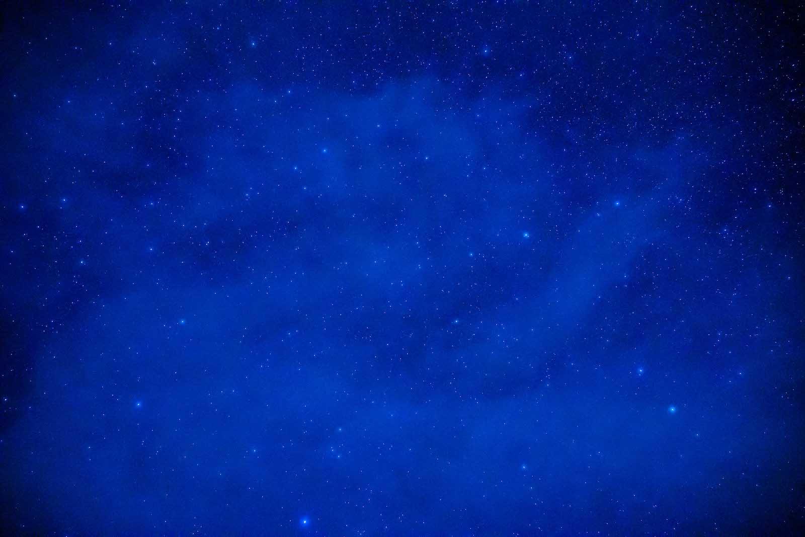 長野県乗鞍高原の星空