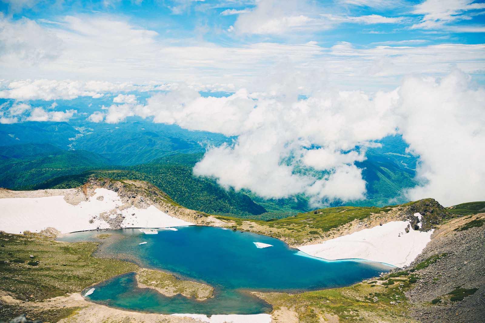乗鞍岳の景色