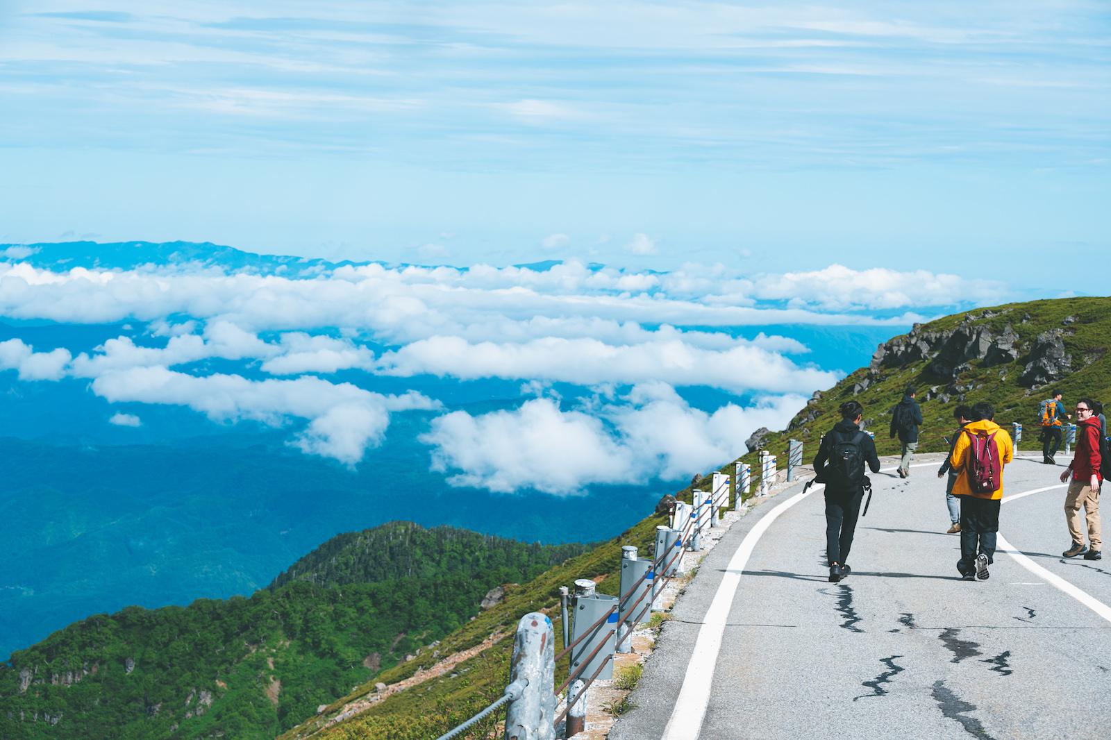 乗鞍岳登山