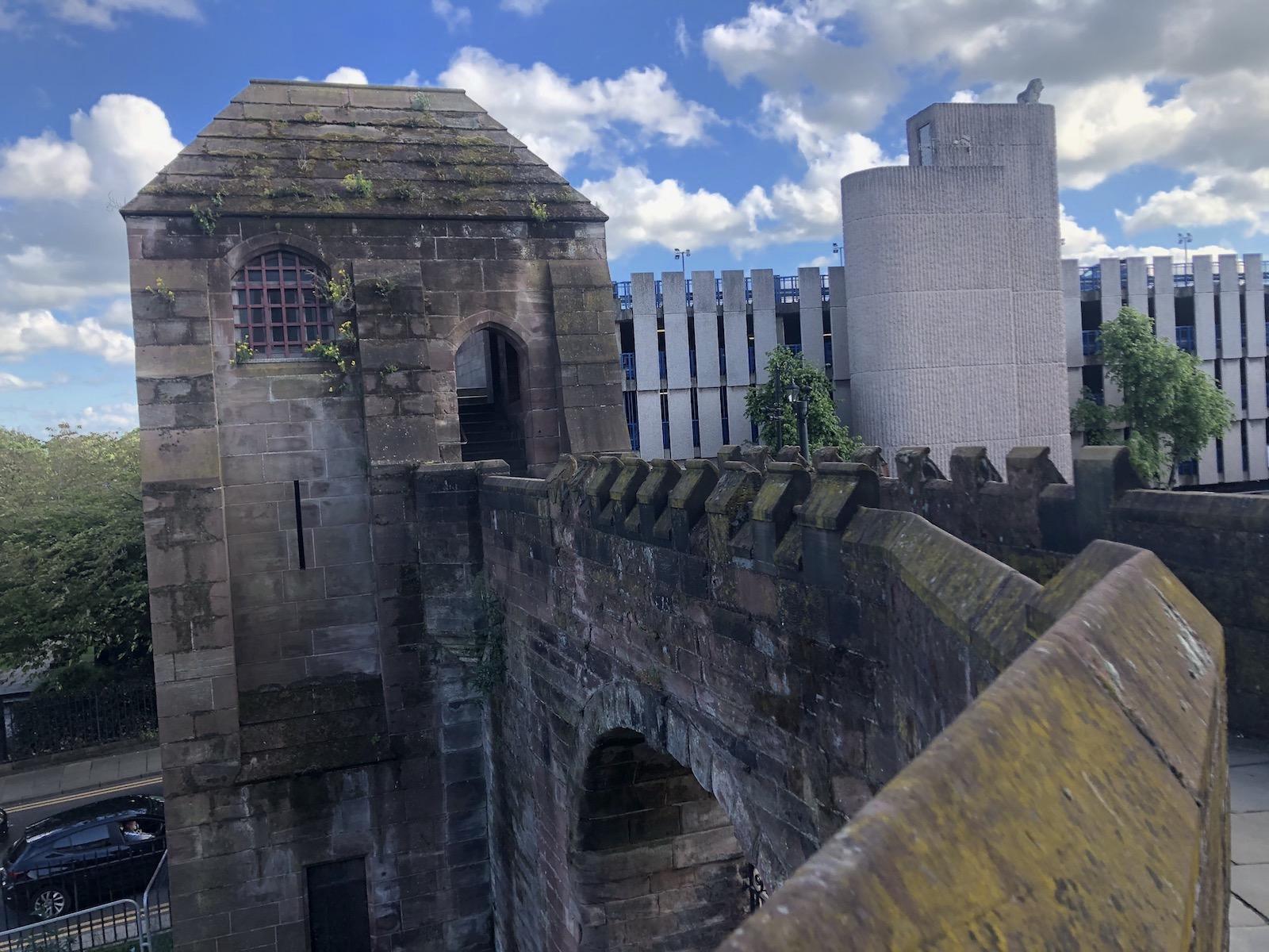 イギリス チェスターの城壁