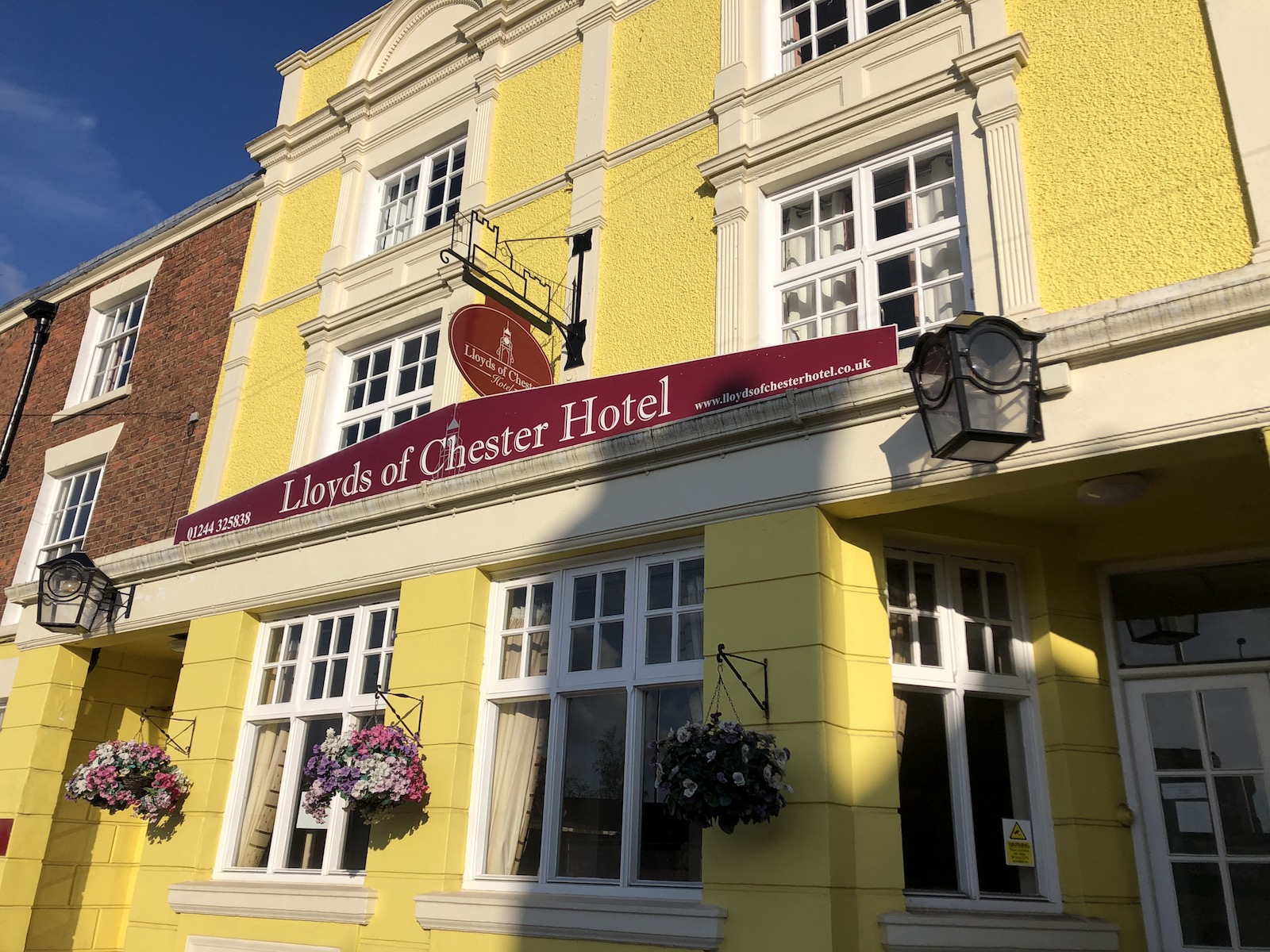 イギリス チェスター ロイズオブチェスター ホテル