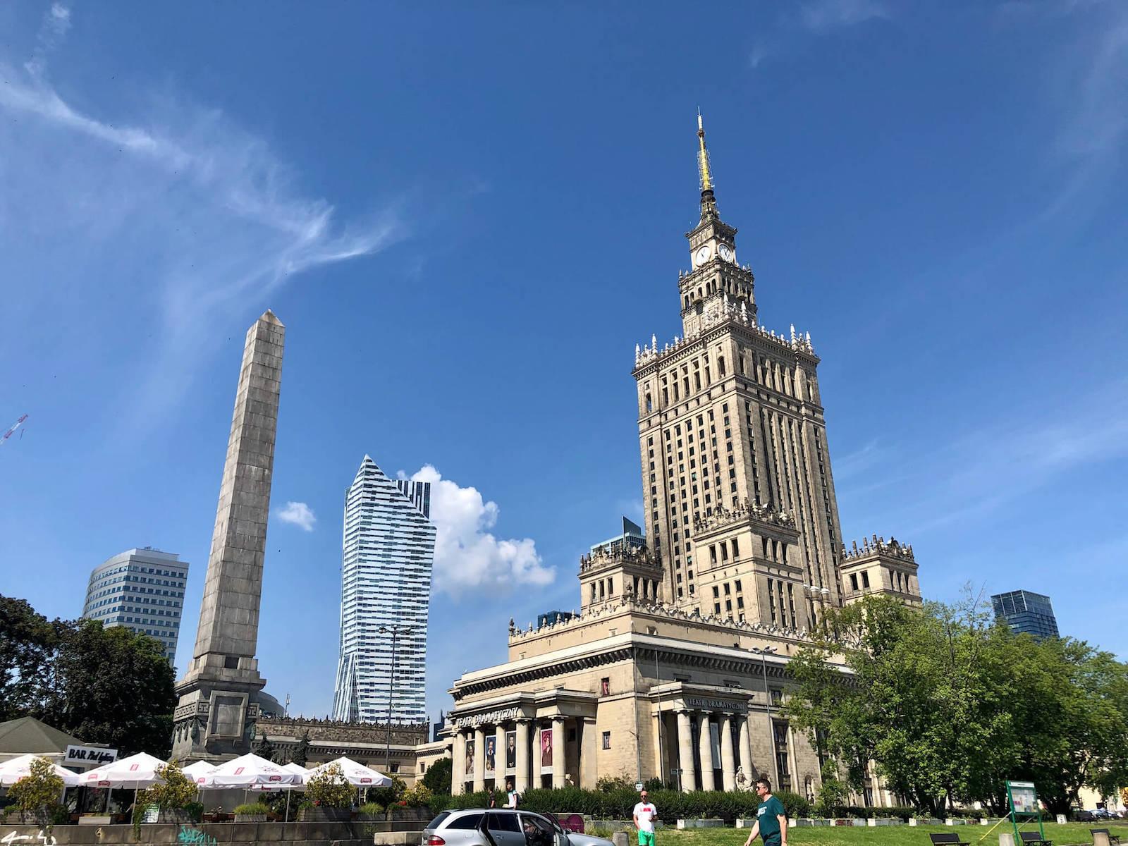 ワルシャワ文化科学宮殿