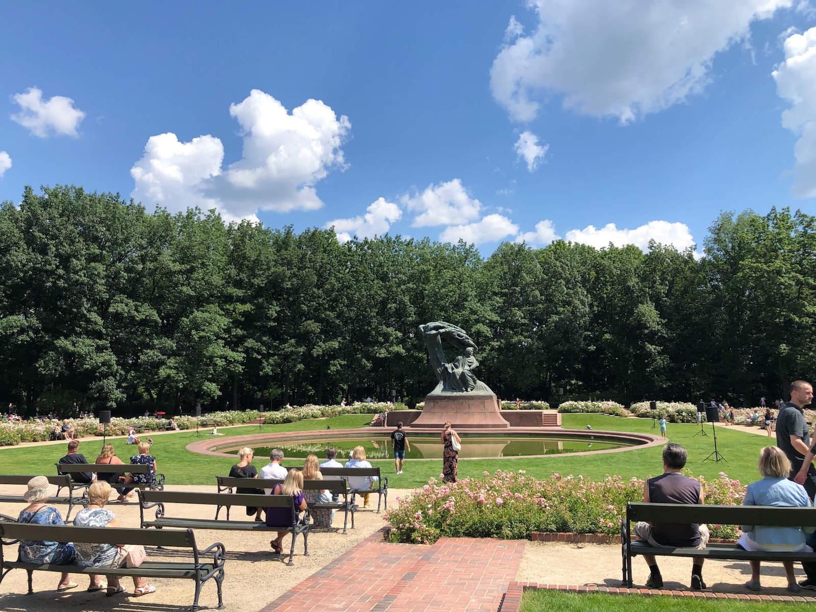 ワルシャワワジェンキ公園
