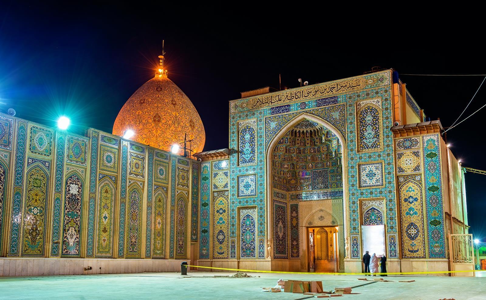 イランのシャー・チェラーグ廟