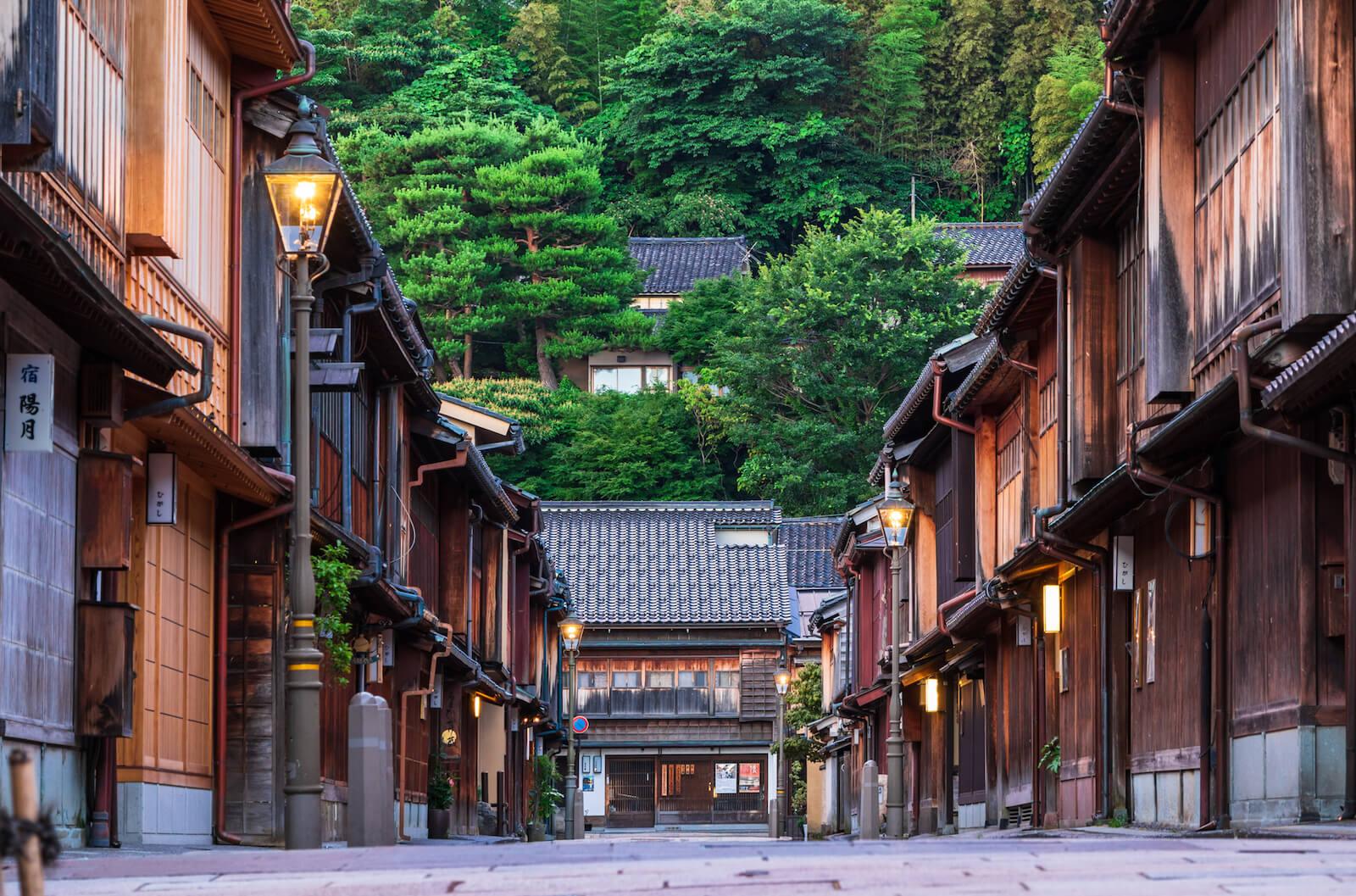 石川県金沢市のひがし茶屋街
