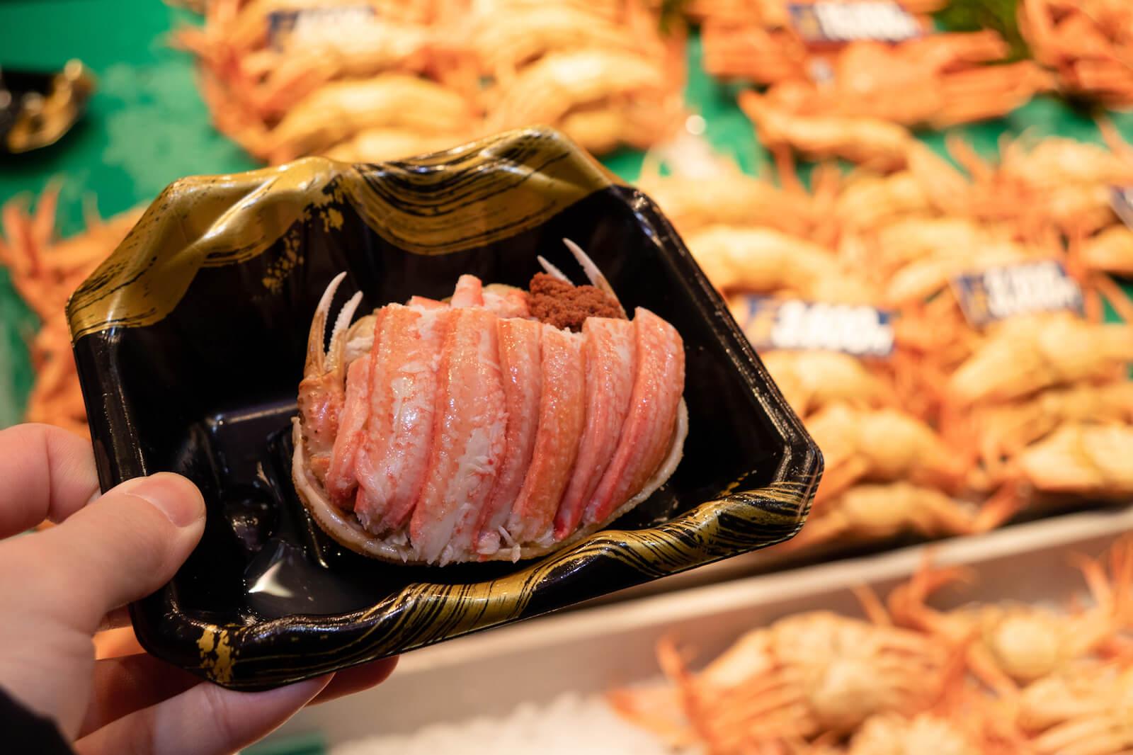 石川県金沢市の香箱蟹