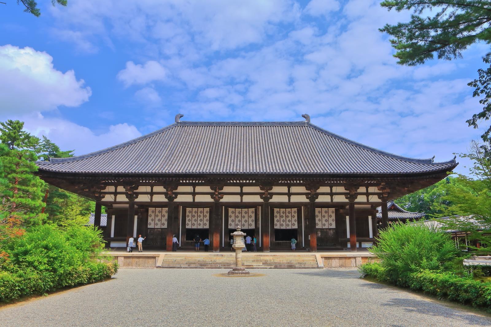 奈良県の唐招提寺