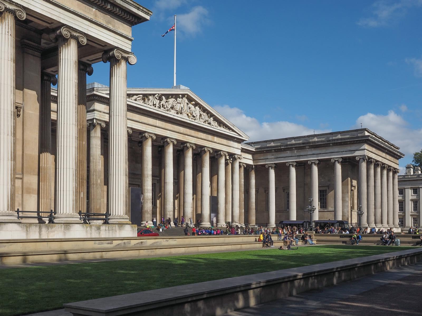 ロンドンの大英博物館