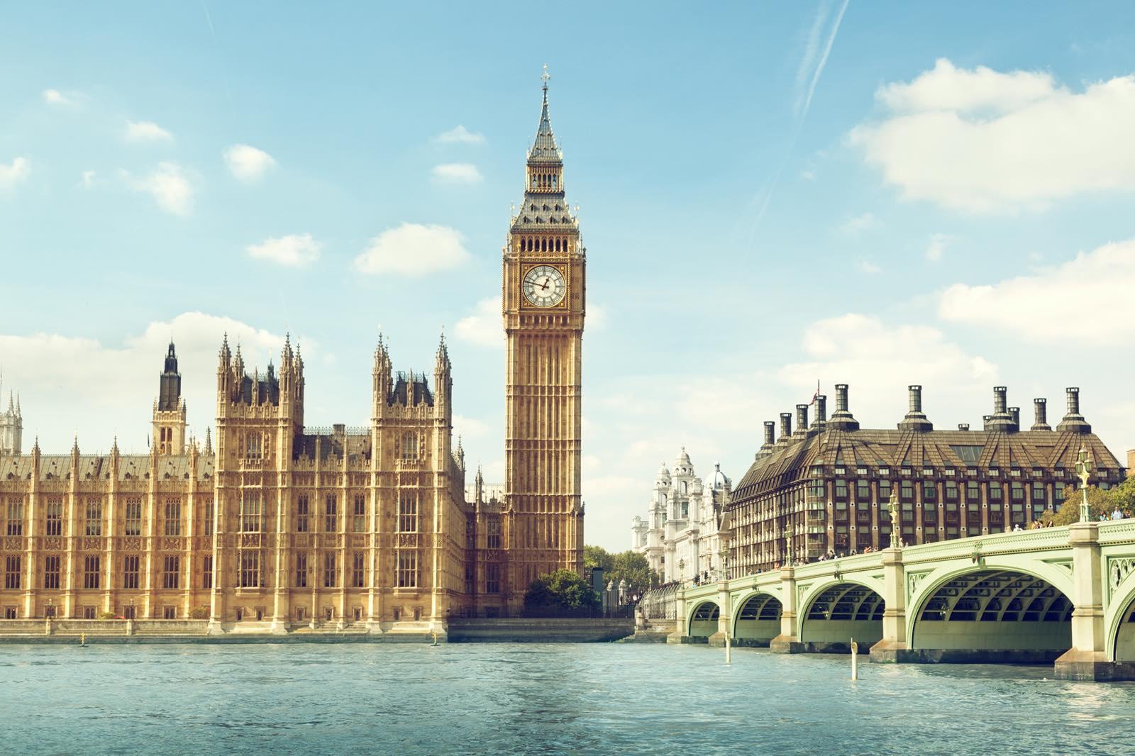ロンドンの時計台