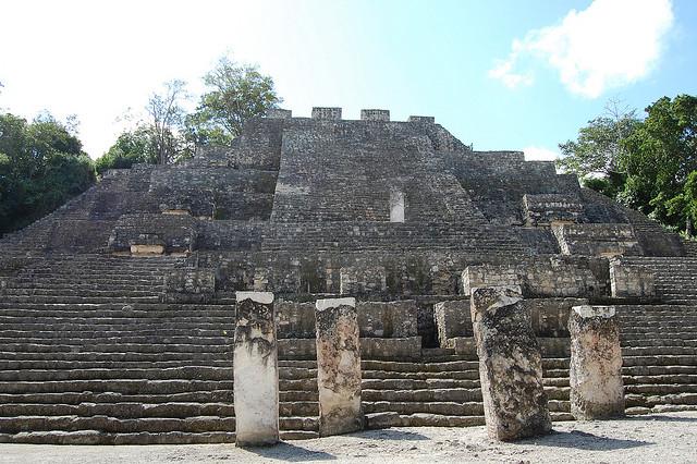 カンペチェ州、カラクムールの古代マヤ都市