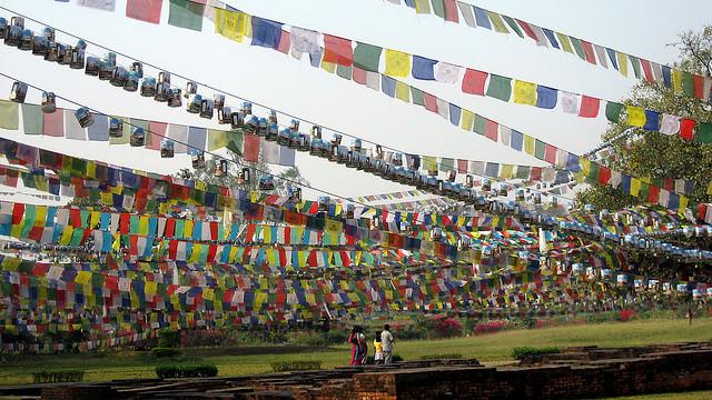 仏陀の生誕地ルンビニ