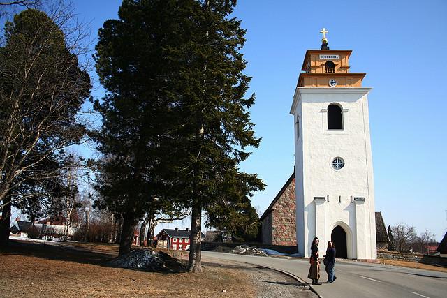 ルーレオーのガンメルスタードの教会街