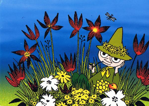 花とスナフキン