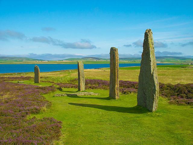 オークニー諸島の新石器時代遺跡中心地