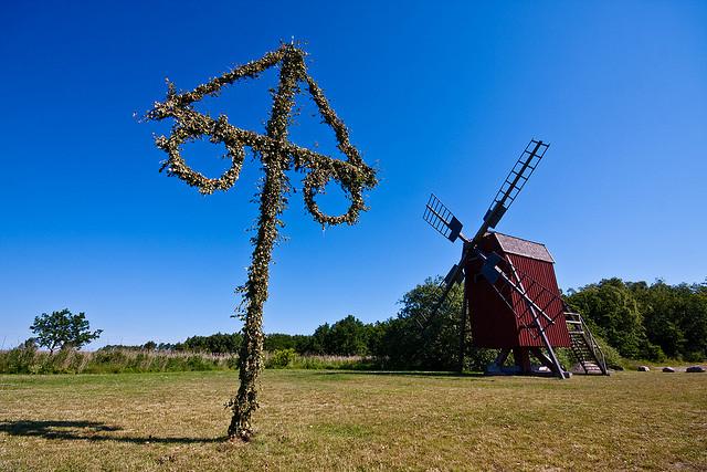 エーランド島南部の農業景観