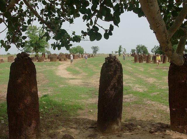 セネガンビアのストーン・サークル群(セネガル側) セネガル 世界遺産